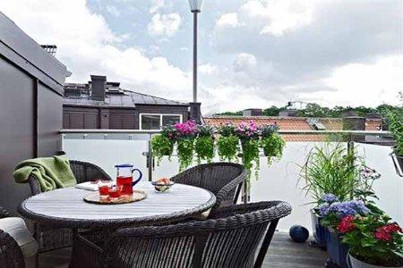 decoracion terrazas pequeñas modernas