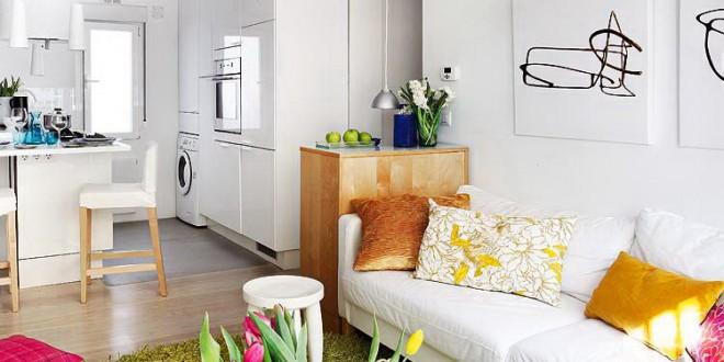 Decoracion vertical para espacios peque os hoy lowcost Decoracion para espacios pequenos