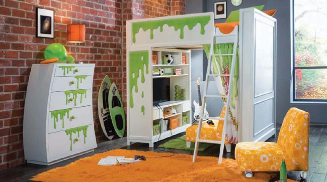 Decoraci n de cuartos infantiles un reto asequible hoy - Dormitorios infantiles mixtos ...