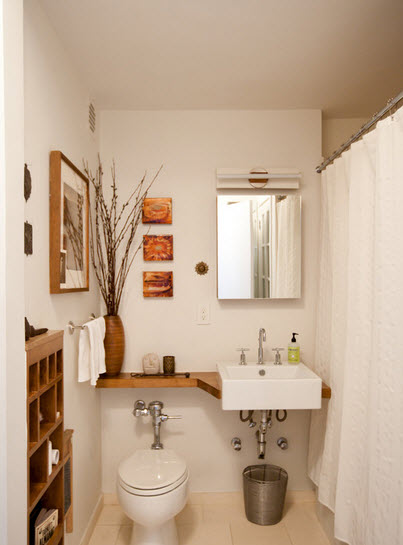 Como decorar un ba o peque o ideas con fotos hoy lowcost - Clever small bathroom designs ...