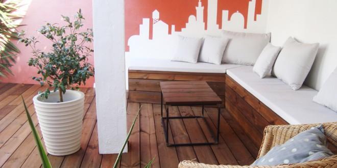Diseño Moderno Terrazas Pequeñas Hoy Lowcost