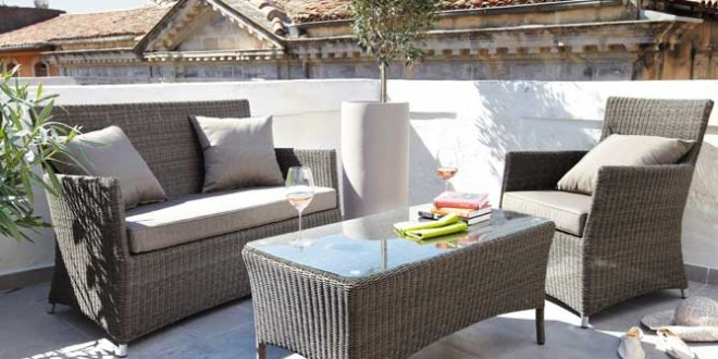 Dise o muebles exterior hoy lowcost - Muebles exterior diseno ...