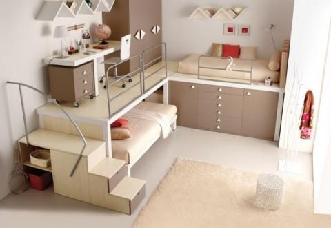diseño para cuartos infantiles reducidos | Hoy LowCost