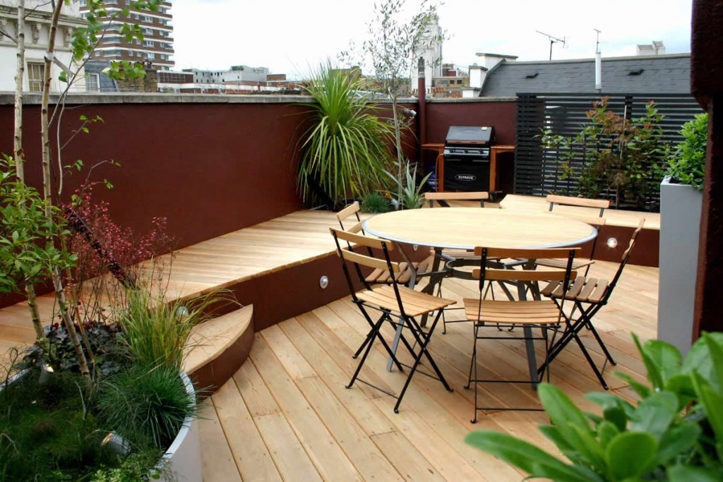 decoraciones de terrazas para cenar