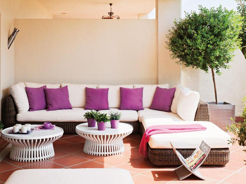 Decoraci n de terrazas y balcones ideas originales hoy for Diseno terrazas modernas