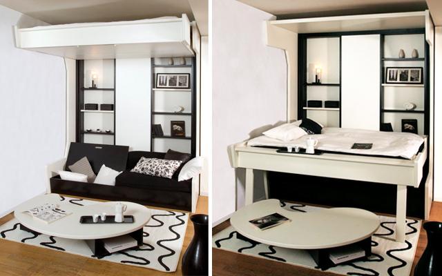 muebles funcionales espacios pequeños
