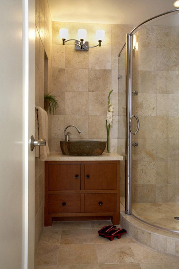 Como decorar un ba o peque o ideas con fotos hoy lowcost for Como decorar espacios pequenos estilo rustico