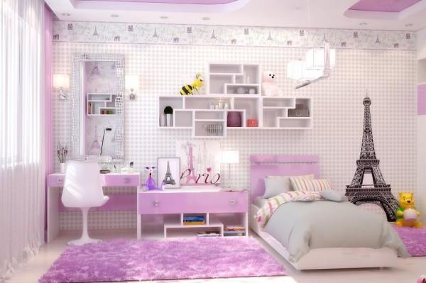Decoraci n de cuartos infantiles un reto asequible hoy for Habitaciones para ninas adolescentes modernas