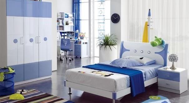 Habitacion infantil decoracion azul hoy lowcost - Decoracion habitacion infantil ...