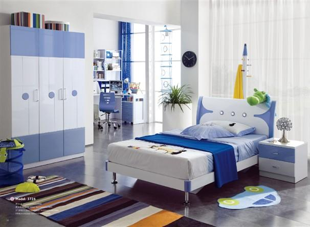 habitacion infantil decoracion azul
