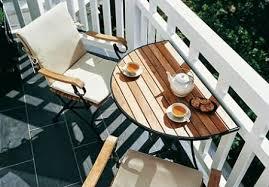 mesas plegables para balcones pequeños