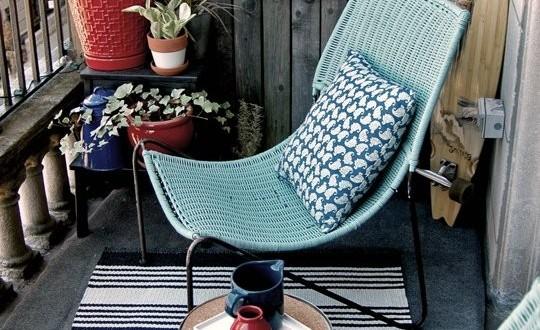 Muebles comodos para balcon peque o hoy lowcost for Muebles de balcon