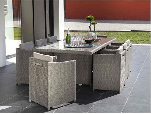 muebles de diseño para terrazas