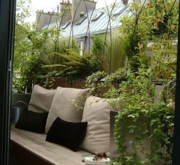 Muebles de madera para balcones peque os hoy lowcost - Muebles para balcones pequenos ...