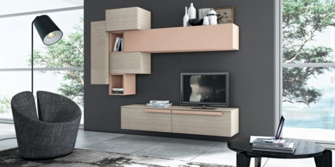 muebles de salon baratos modulares hoy lowcost