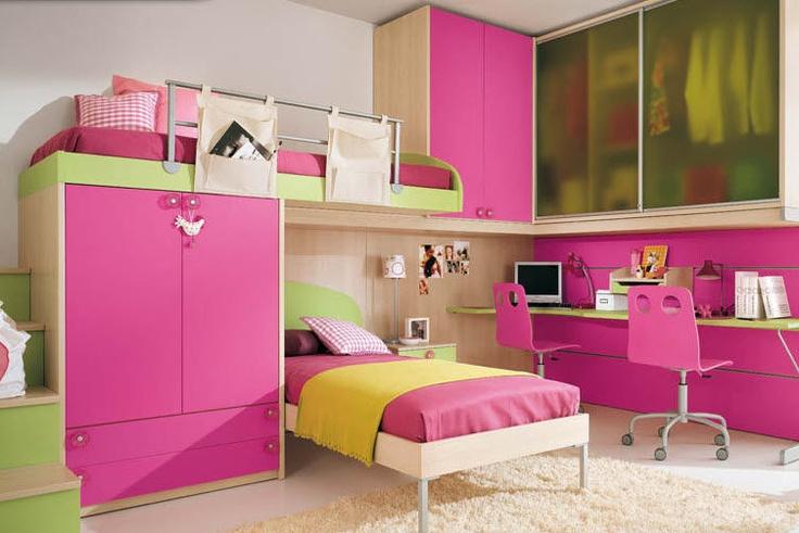 Decoraci n de cuartos infantiles un reto asequible hoy lowcost - Muebles para cuarto de nina ...