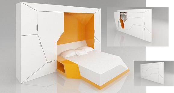 Muebles dormitorio matrimonio peque os hoy lowcost Dormitorios matrimoniales pequenos