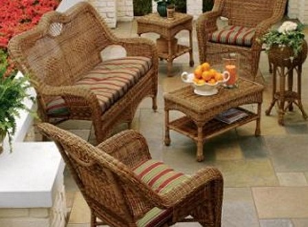 Muebles mimbre para terrazas peque as hoy lowcost - Muebles para terraza pequena ...