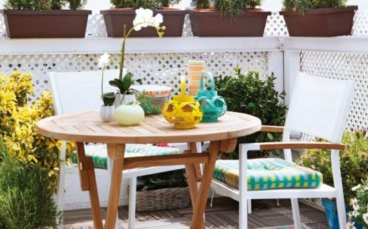 Muebles para balcones peque os hoy lowcost - Muebles para balcones pequenos ...