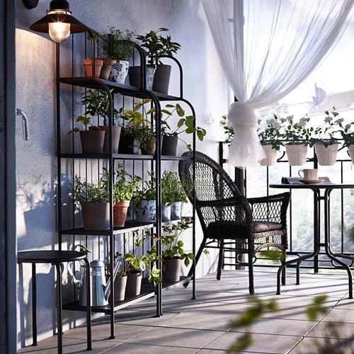 accesorios decoración balcones pequeños