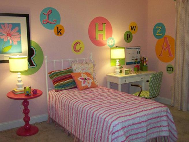 practica decoracion cuartos infantiles niña
