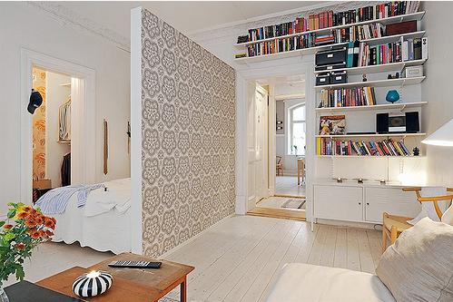 Como decorar espacios peque os trucos geniales hoy lowcost - Creative small studio apartment ideas with space saving partitions ...