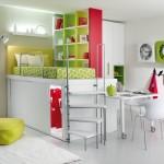 Dormitorios juveniles en altura