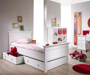 Decoraci n de dormitorios juveniles hoy lowcost - Dormitorio juvenil clasico ...