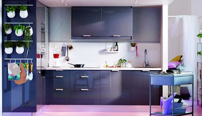 decoracion cocinas modernas pequeñas