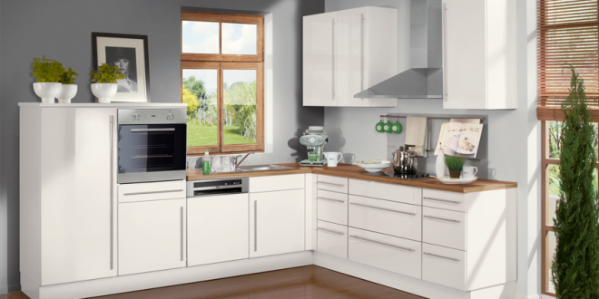 Cocina peque a moderna y sencilla hoy lowcost for Cocina rapida y sencilla