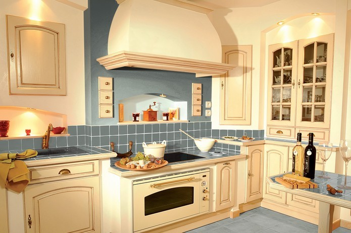 Cocinas modernas peque as estilos y dise os hoy lowcost for Cocinas pequenas rusticas