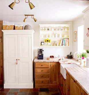 Cocina Shabby Chic Pequena Hoy Lowcost - Cocina-shabby-chic