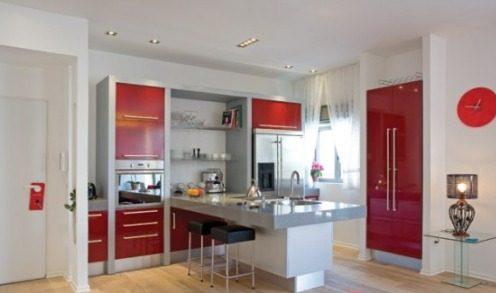 Cocinas modernas peque as estilos y dise os hoy lowcost - Pisos bien decorados ...