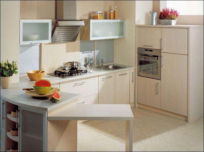 Cocinas modernas peque as estilos y dise os hoy lowcost for Planos de cocina y lavanderia