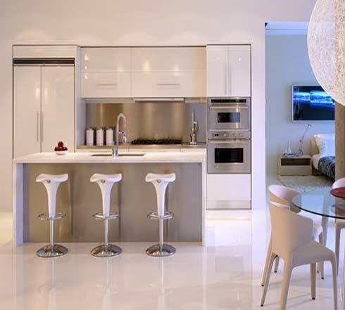 cocinas pequeas modernas - Cocinas Modernas Pequeas