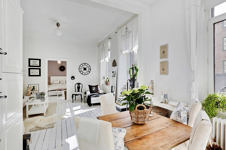 Como decorar una casa peque a con poco dinero hoy lowcost - Como decorar un salon con poco dinero ...