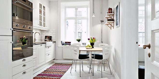 Colores muebles cocina peque a hoy lowcost for Muebles de cocina pequena