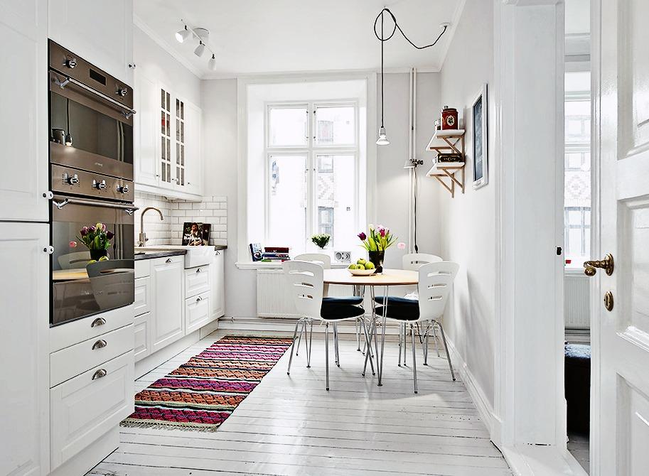 Como decorar una casa peque a con poco dinero hoy lowcost - Decoracion de interiores cocinas pequenas ...
