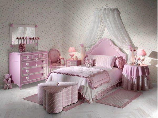 diseños dormitorios niña