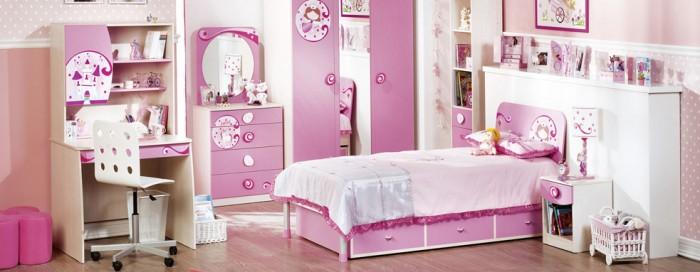 diseño habitaciones niñas
