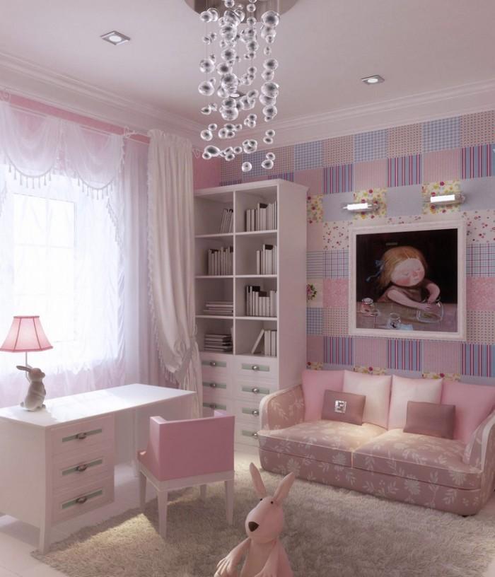 cuartos para niñas diseños