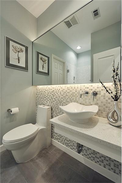 decoracion baños modernos pequeños