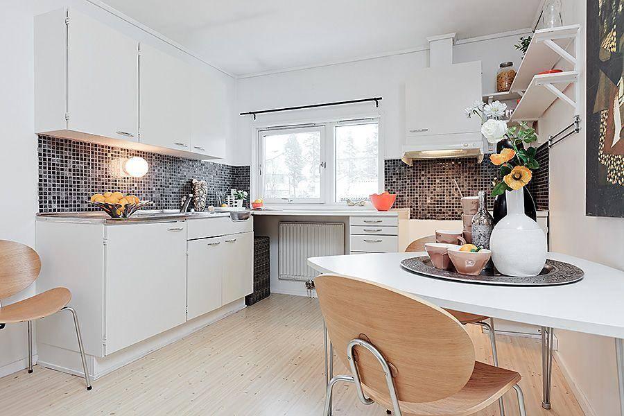 decoracion cocinas pequeñas en blanco
