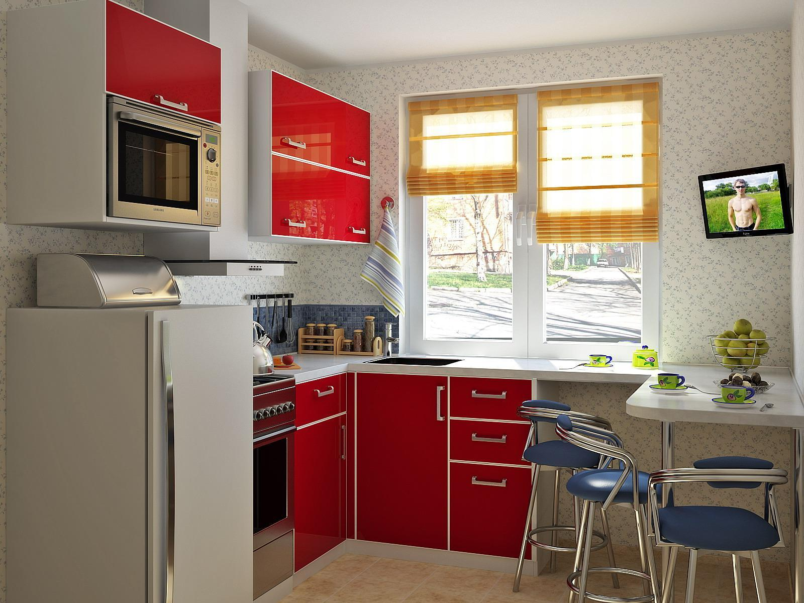 Cocinas modernas peque as estilos y dise os hoy lowcost - Relojes para cocinas modernas ...