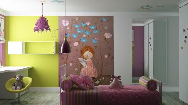 habitacion niña decoracion