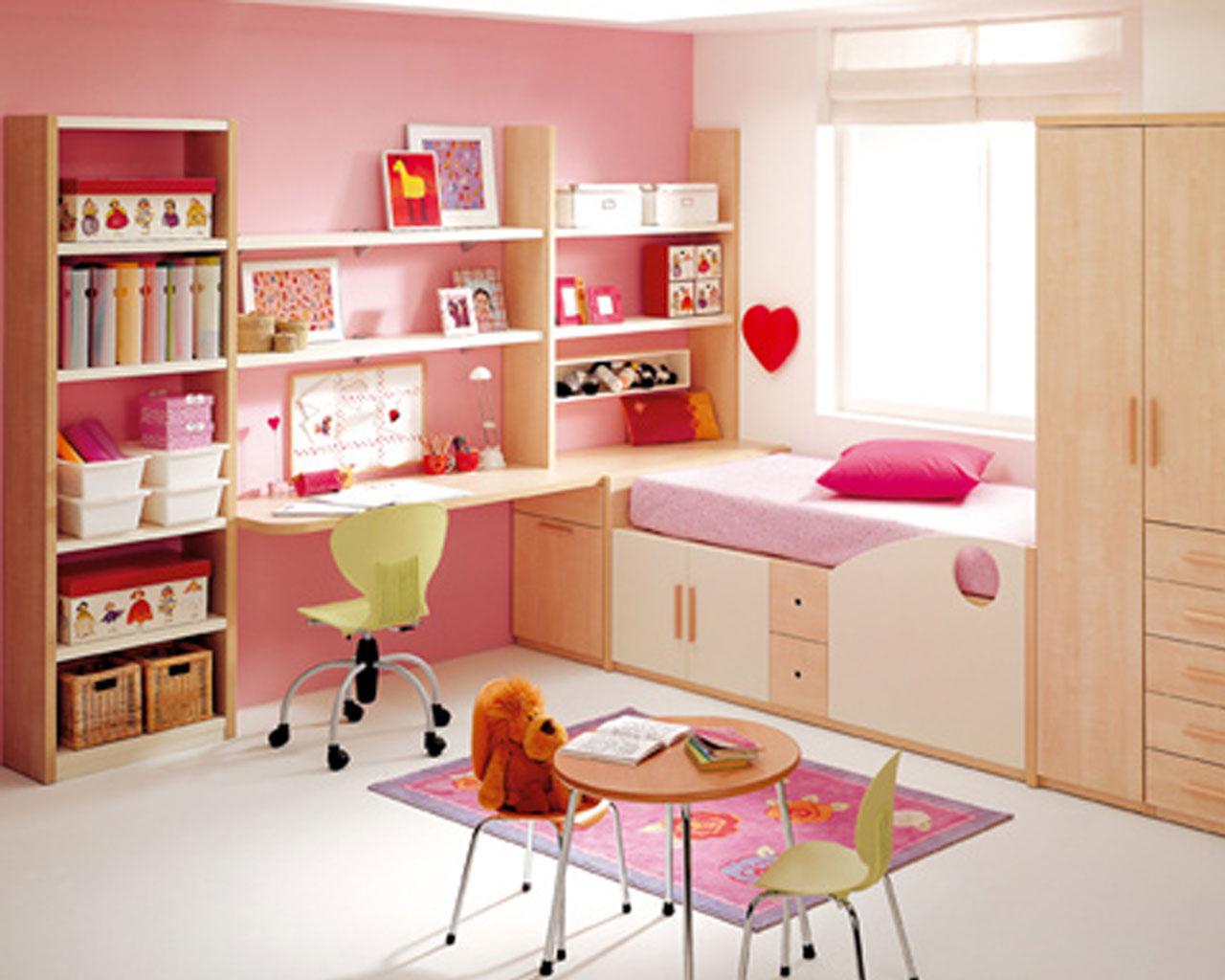 decoracion cuarto pequeño niña