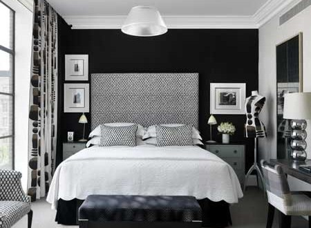 decoracion dormitorio blanco y negro | Hoy LowCost