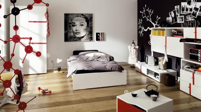 Habitación juvenil diseño