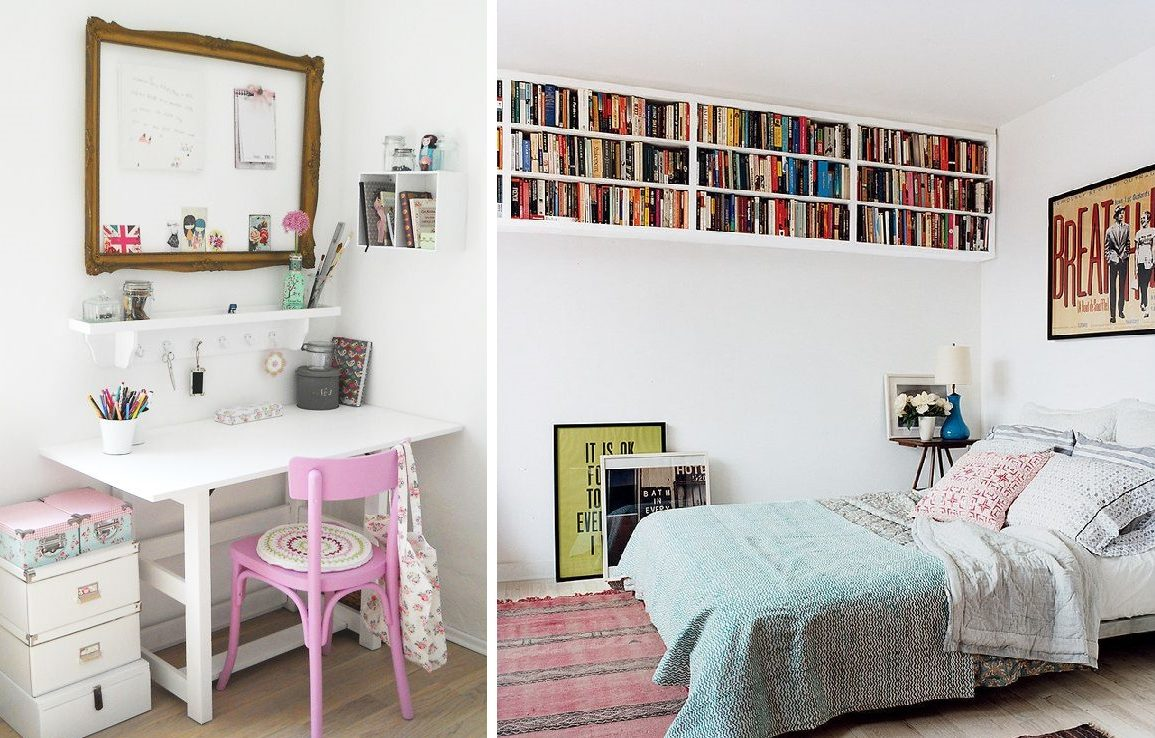 Como decorar mi cuarto ideas creativas hoy lowcost for Decoracion librerias