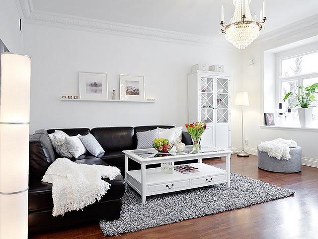 decoracion estilo clasico en blanco